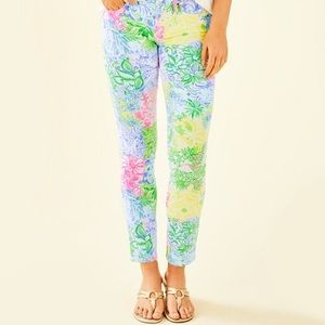 🆕 Lilly Pulitzer South Ocean Skinny Pant Jeans